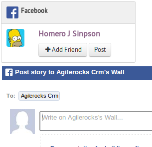Facebook Integration in Agile CRM
