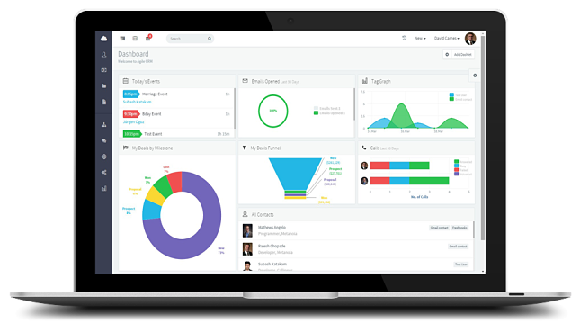 New CRM Software UI