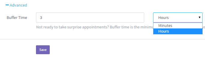 Buffer Time in Appointment Scheduling Software Update