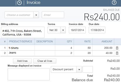 Create Invoice with QuickBooks and Xero Integration