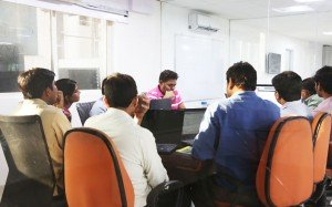 Working in the HITEC City