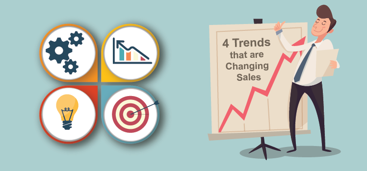 4 Trends That Are Changing Sales