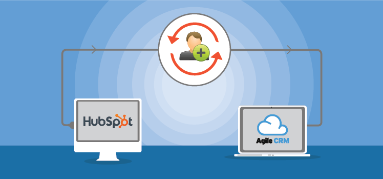 Migrate your contacts easily from Hubspot to Agile with our Data Sync Feature