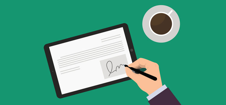 E-Signature or electronic signing of documents now part of Agile CRM