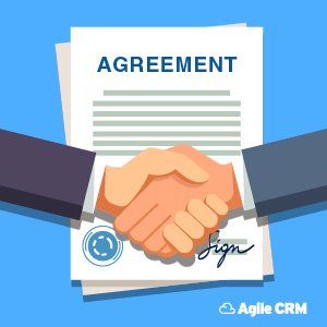 What is a simple service level agreement