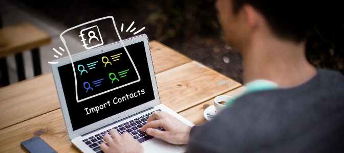 Make sure all data is in the right format before importing contact lists