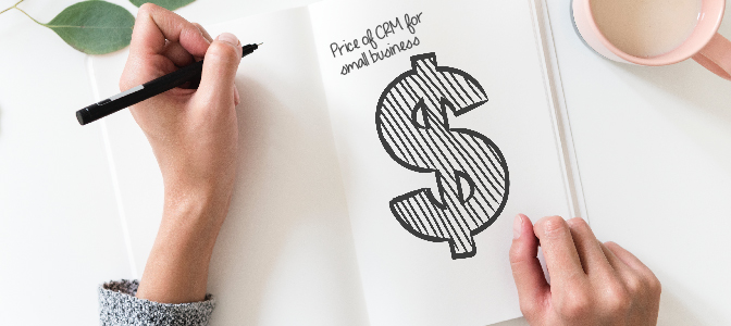 Price of CRM for small business