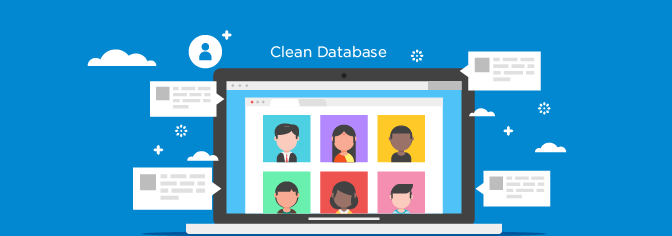 Maintain a clean database