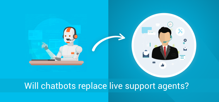 Will chatbots replace live support agents?