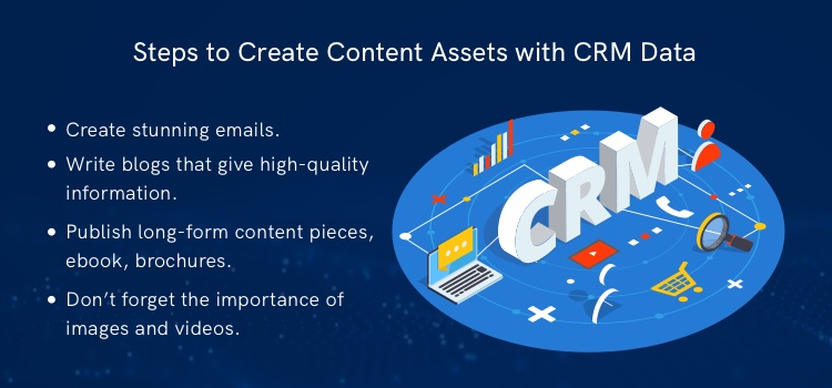 steps to create content assets