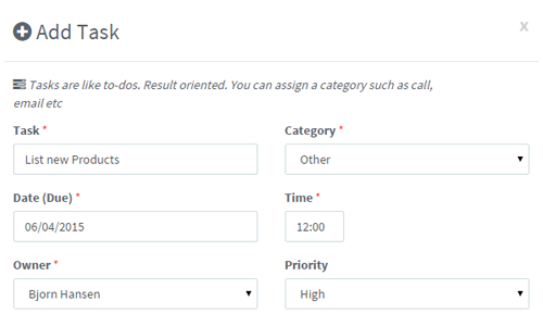 calendar add activity