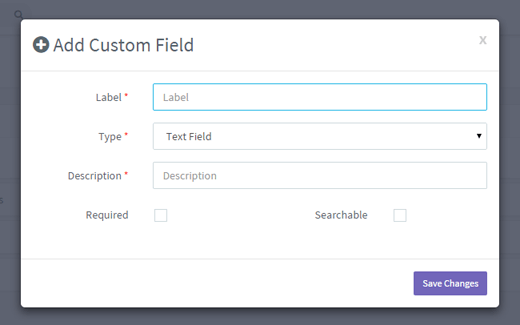 Add custom fields