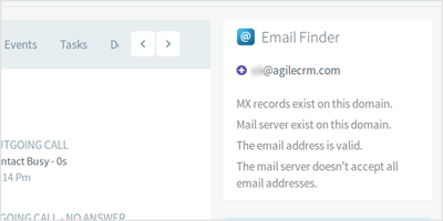 Email Finder – Identify New Leads   Agile CRM