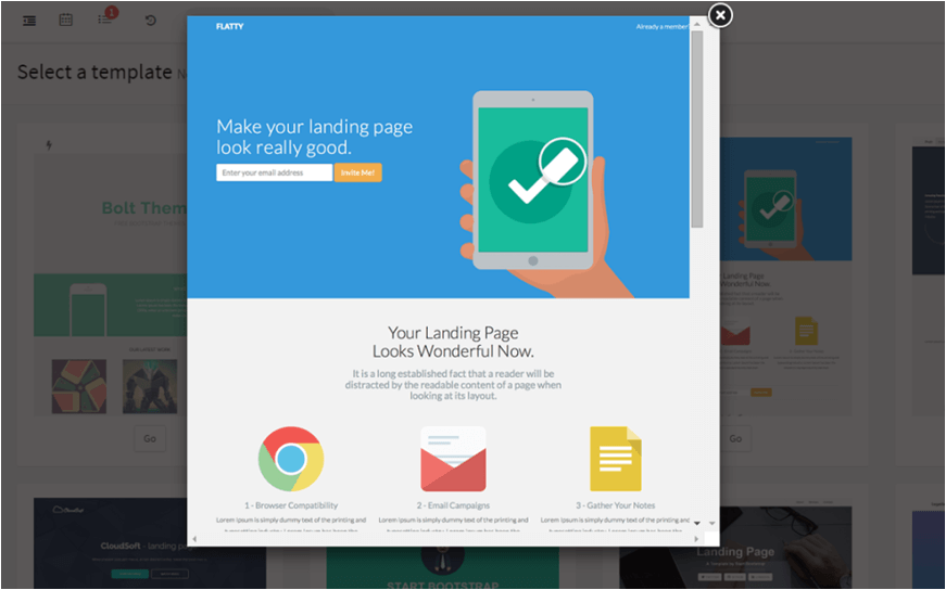 Dynamic Landing Pages