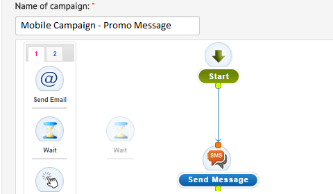 Drag-drop Campaign Workflow