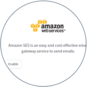 Locate Amazon SES Integration