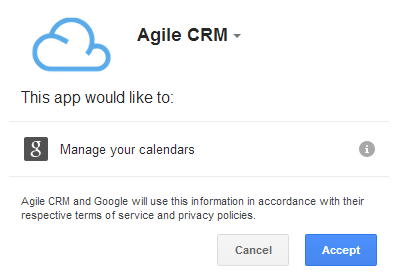 Add Agile Calendar to Google Calendar