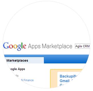 Install Agile CRM Google Gadget Plugin