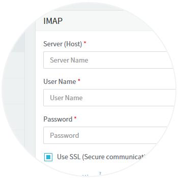 IMAP Setup, step-2