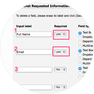 Step 3. Map Required Fields