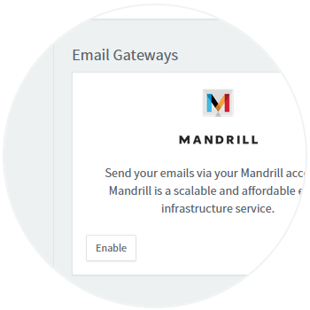 Locate Mandrill Integration