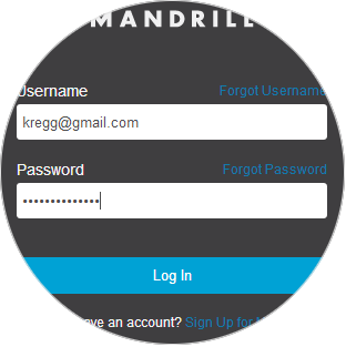 Link Mandrill Account
