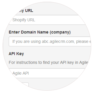 Shopify Integration - Agile CRM