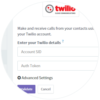 Twilio Account Details