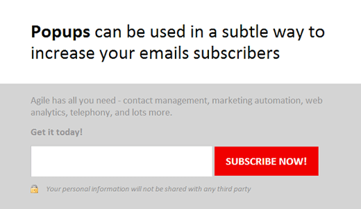 Boost Subscriptions