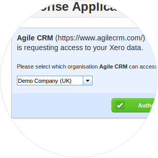 Authenticate Agile in Xero