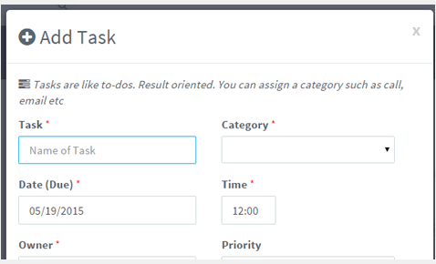 Add new task