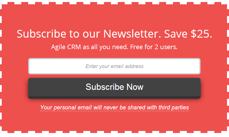 Newsletter Pop-ups